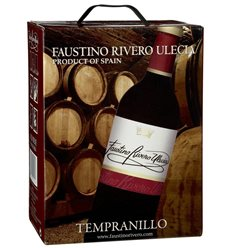 Faustino Rivero - Ulecia Tempranillo VdM Rotwein 12% Vol. - 5-l-Bag in Box