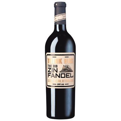 Think Big - Zinfandel 2015 Rotwein trocken 14% Vol. - 0,75l
