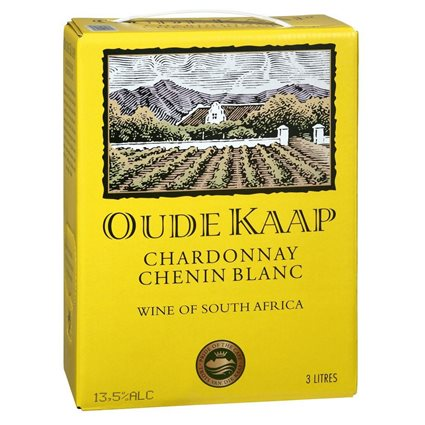 Oude Kaap Chardonnay/Chenin Blanc 13,5% - 3-l-Bag in Box