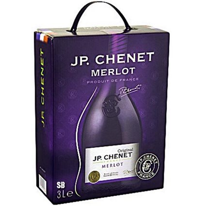 J.P. Chenet Merlot Rotwein 13% - 3-l-Bag in Box