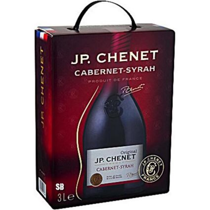 J.P. Chenet Cabernet-Syrah Rotwein 12,5% - 3-l-Bag in Box