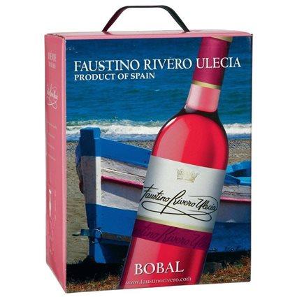 Faustino Rivero - Ulecia Bobal Rosé Wein 12% Vol. - 5l Bag-in-Box