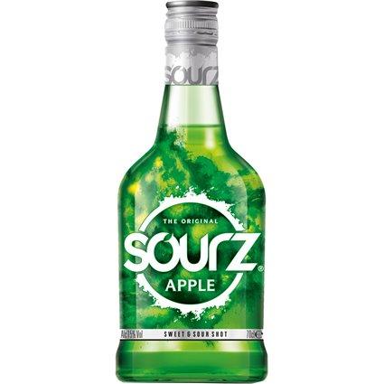 Sourz Apple Likör 15% vol. 0,7l