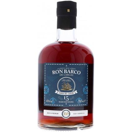 Ron Barco De Cargas 15Y 40% 0,7l