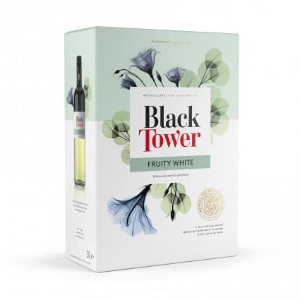 Black Tower Fruity White Weisswein 9,5% 3 Liter