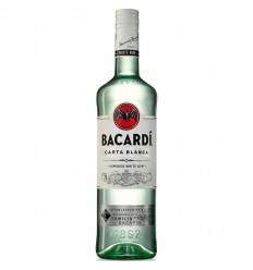 Bacardi Carta Blanca 37,5% vol. 1,0l